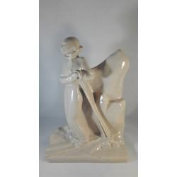 SPRZEDANE Ceramiczna figura...