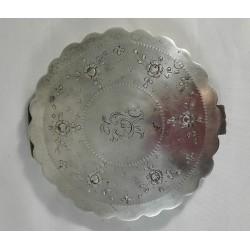 Puderniczka, srebro pr. 3,...